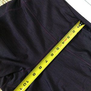 Old Navy Pants - Old Navy Active Plum Athletic Leggings Medium Tall